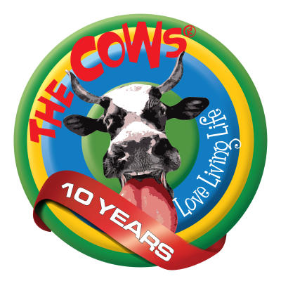 The Cows 10-Year Logo400